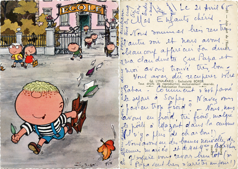 Jojo sort de l\'Ecole - 21 Ed. Lyna-Paris - Exlusivité Borde - illustrateur Fix - 1965.png
