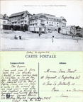 Saint-Cast - La Plage et l'Hôtel Royal-Bellevue - 1918