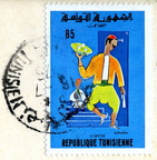Tunisie - Timbres