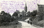 Saint-Cast - La Route du Bourg - 1914 recto