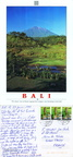 Bali - The classic view of Mount Agung from Langsat, near Rendang in East Bali - 1999