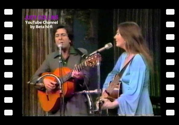 "JUDY COLLINS & LEONARD COHEN - ""Hey, Thats No Way To Say Goobye"" 1976"