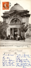 La Bourboule - Le Grand Établissement Thermal - L'Entrée - 1916