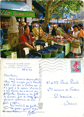 Toulon - Son pittoresque marché - Les Olives - 1962