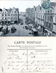 Arras - L'Entre-deux-Places - 1907