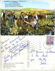 Au Berry - Vendanges au Sancerrois - La Vannée - 1962