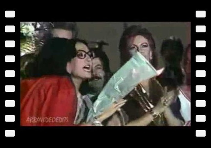 ABBA FRIDA WITH NANA MOUSKOURI SINGING I HAVE A DREAM